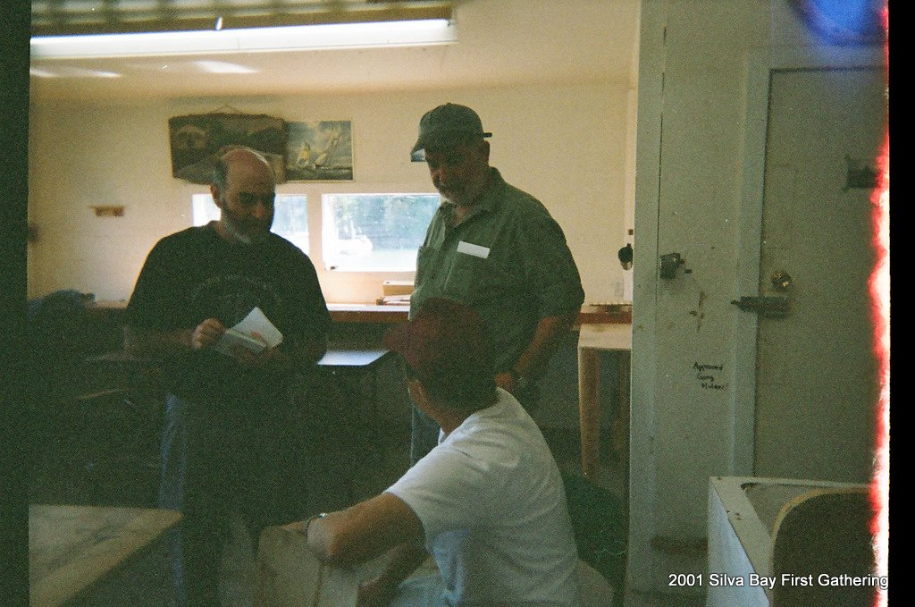 2001 10 Fred Apstein & other attendees.jpg