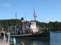 SS Master leaving Dock